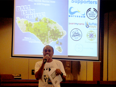 A Big Step Forward For Bali's Water Scarcity Advocacy