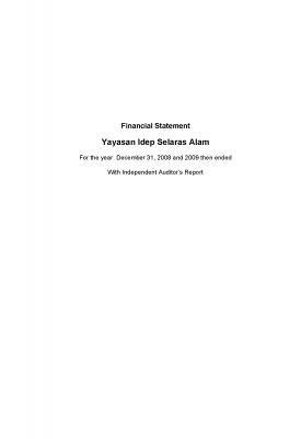 Auditor Report 2009