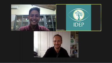 IDEP Shares Experiences in Conducting Activities at School with green-books.org