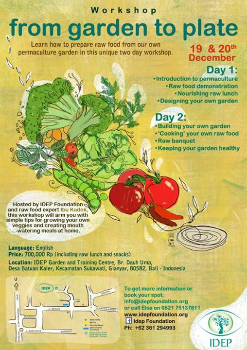 IDEP Foundation - Permaculture Training - From Garden to Plate