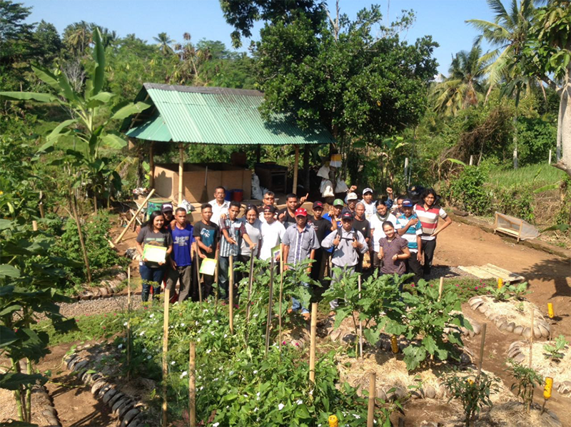 Permaculture Training - World Vision Indonesia